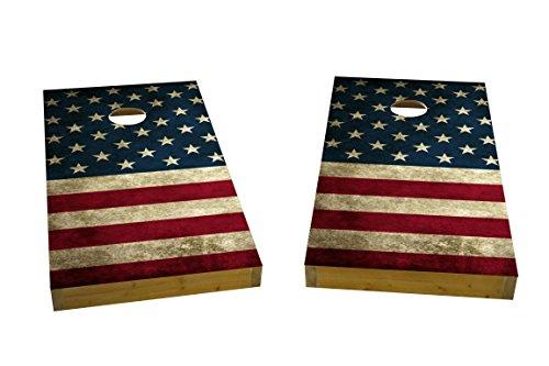 Custom Cornhole Boards American Flag Cornhole Boards Heavy Duty 2 X 4