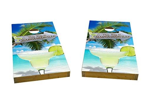 Custom Cornhole Boards Margaritaville Cornhole Boards Light Weight 1x4 Light Weight
