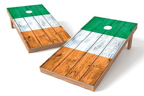 Ireland Flag Cornhole Board Set-Vintage