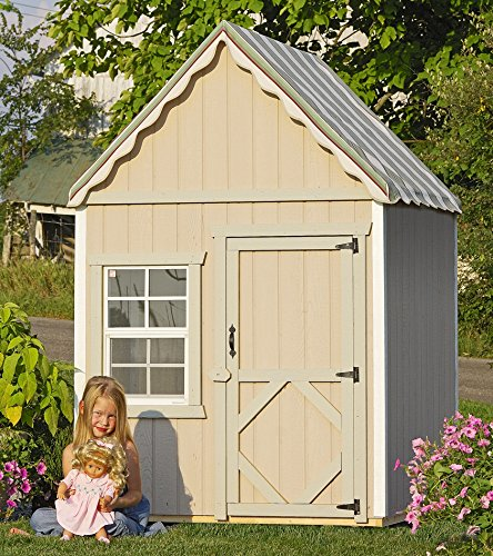 Little Cottage Company The Sweetbriar DIY Playhouse Kit