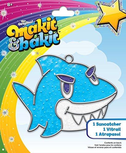 Colorbok TB-68607 Makit and Bakit Suncatcher Kit Shark