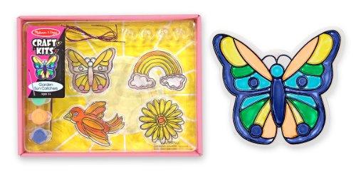 Melissa Doug Garden Sun Catcher Craft Kit - 4 Sun Catchers