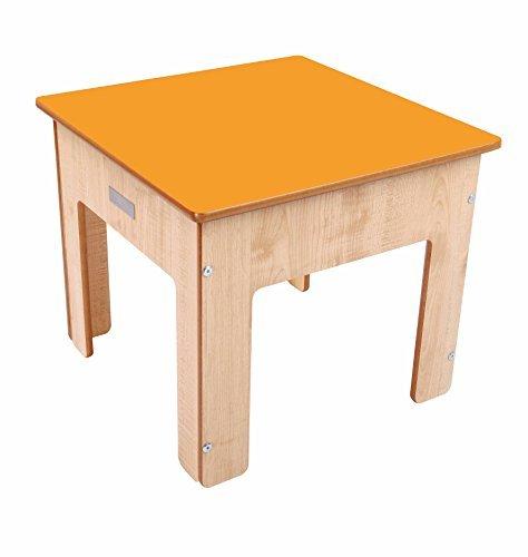 Little Helper FunPit 3 in 1 Sand Pit with Reversible Blackboard Desk Top MapleOrange by Little Helper