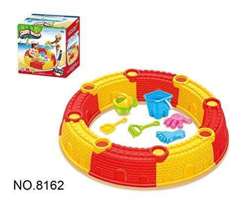 Night Lions TechTM 14-pcs Sand Beach Toys Set Castle Sand Pit Beach Pool Toy