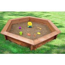 Swing Town Hexagonal Sand Pit