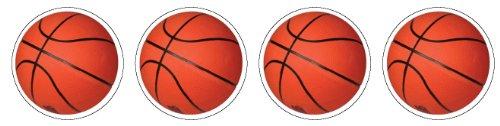 Eureka Photo Basketball Stickers