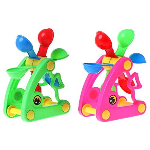 SprinZ Windmill Waterwheel Toys Bath Toy Play Sand Water Toys Pool Beach Kid Baby Toy