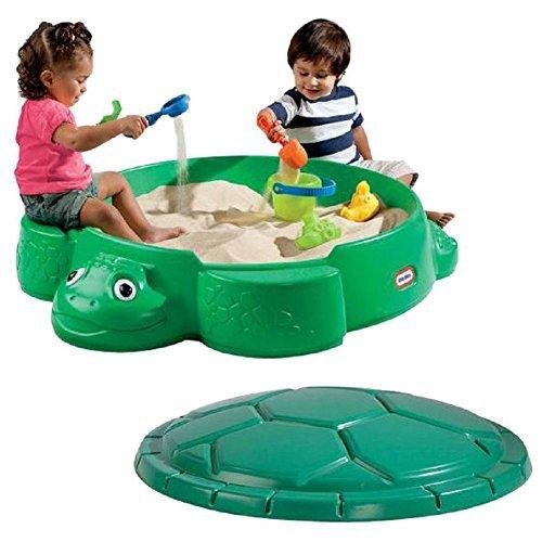 Little Tikes Turtle Round Sandbox Kids Sandbox
