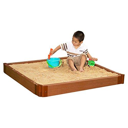 Square Sandbox Kids Sandbox - 6