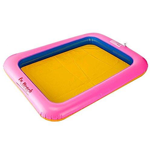 VANKER Novel Kids Indoor Funny Inflatable Large Castle Play Sandbox Table Toys 6045cm Random Color