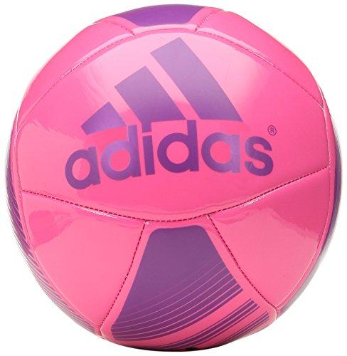 adidas Performance EPP Glider Soccer Ball Solar PinkLucky Pink Size 3
