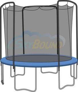 12 Universal Trampoline Enclosure Safety Net