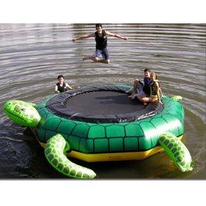 Island Hopper 15 Turtle Jump Water Trampoline