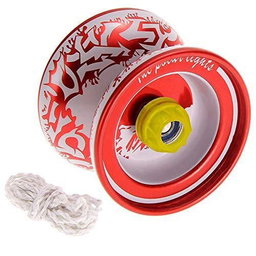 Yinpinxinmao High Speed Metal Yoyo Ball Professional Hand Playing Children Kids Toy Gift Random Color