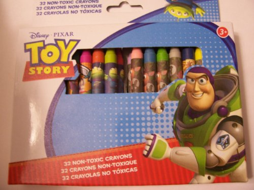 Disney Toy Story Crayons ~ 32 Non-Toxic Crayons