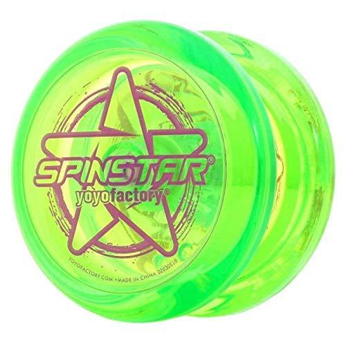 Spinstar Lime Green Yo Yo from The YOYOFACTORY Beginner Friendly