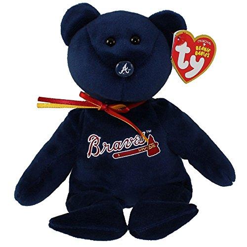 Atlanta Braves MLB Beanie Baby - Teddy Bear by TY 41712