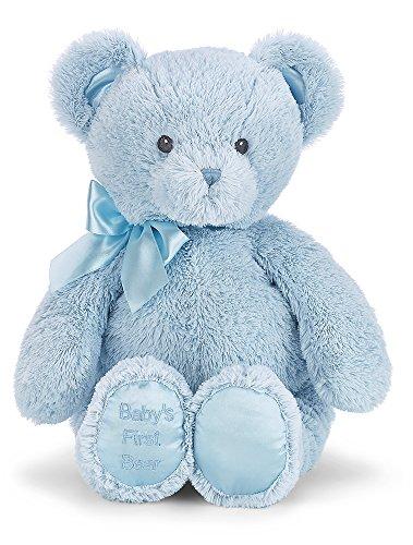 Bearington Babys First Bear Blue Teddy Bear 18