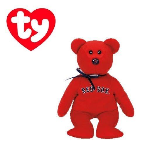 Boston Red Sox MLBBeanie Baby - Teddy Bear by TY 41709