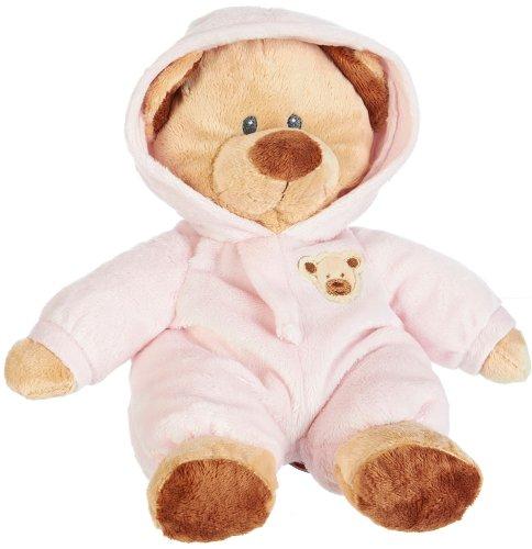 Ty Pluffies PINK PJ Baby Teddy Bear Stuffed Animal