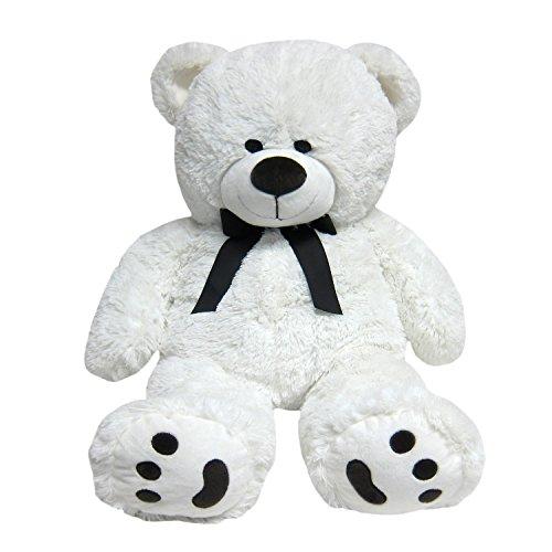 JOON Big Teddy Bear Tuxedo Edition White