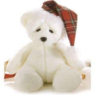 Mr Sandman White Teddy Bear 14 by Aurora