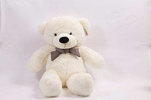 YunNaSi I love you White Teddy Bear Giant Big Cute Plush 47120CM