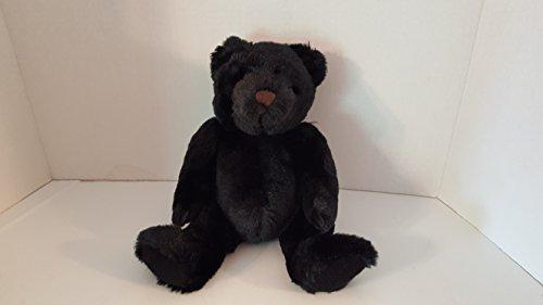 8 Sitting Black Teddy Bear
