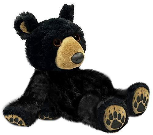 First Main 7 Ebony Black Teddy Bear