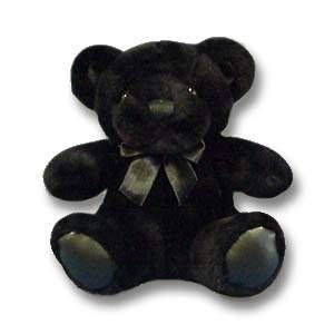 Plush Teddy Bear - 6 Black