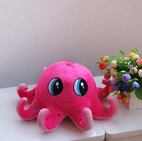 Cute Octopus Doll Soft Stuffed Animal Plush Toy Pillow Creative Birthday Gift Pink