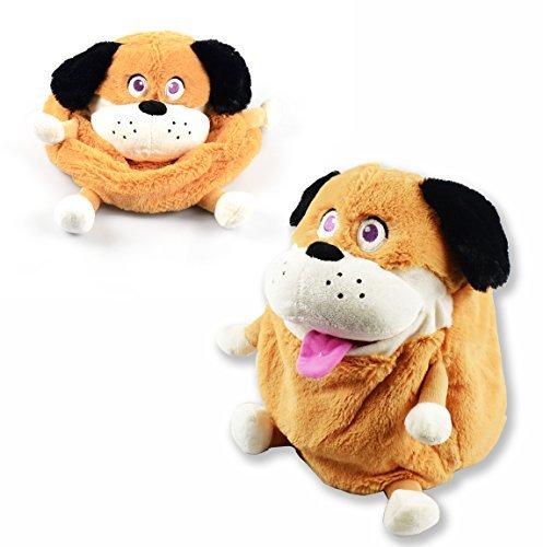 Plush Tummy Pets Stuffers Snuggle Kids Cute Soft Toys Storage Box Bag Children Shopmonk Puppy by zizzi