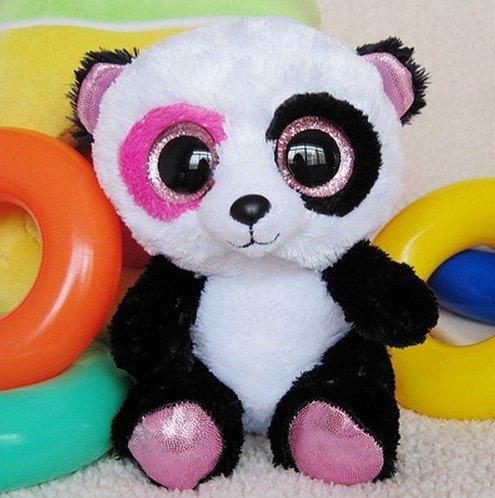 Anime Club Ty Beanie Boos Penny - Panda PLUSH TOY big eyes plush doll