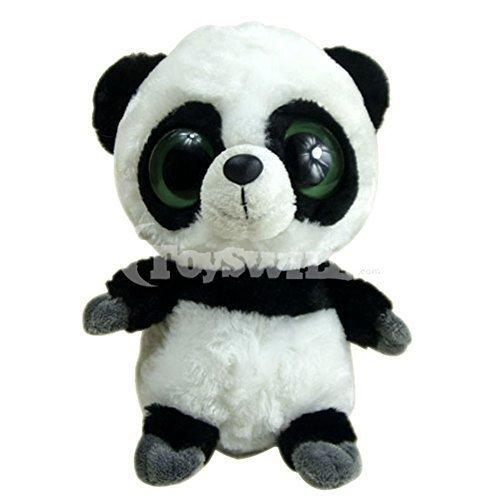 Panda Plush Toy with Big Eyes for Kids