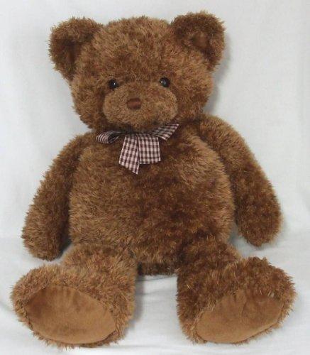 HEADS TALES LARGE PLUSH BROWN TEDDY BEAR by GUND 25 TALL