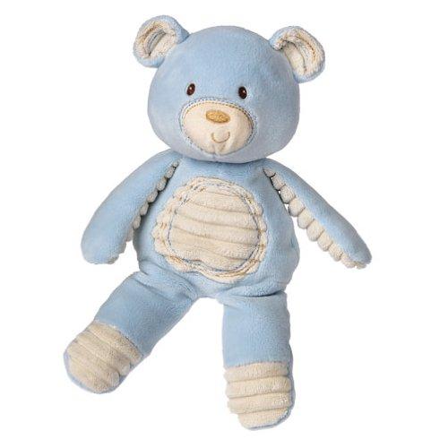 Mary Meyer Thready Teddy Soft Toy Blue