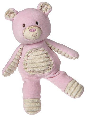 Mary Meyer Thready Teddy Soft toy Pink by Mary Meyer