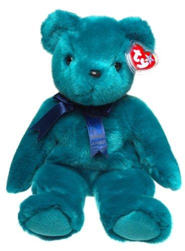 TY BEANIE BUDDY GREEN TEDDY SOFT TOY IN UK FABULOUS by Beanie Buddies