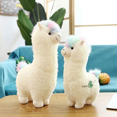 Uni-Wert 15 Plush Alpaca Toy Llama Stuffed Animal Doll Hug Pillow Cute Plush Figures