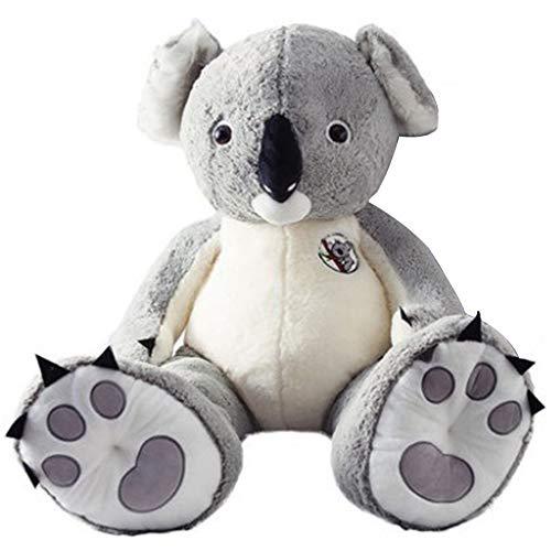 loinhgeo-80100cm Lovely Soft Stuffed Animal Doll Simulation Koala Plush Toy Home Cushion - 80cm