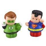 Little People DC Super Friends Green Lantern Superman Figure Pack