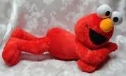 Large 24 Laying Down Elmo Plush