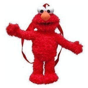 Sesame Street Plush Backpack Elmo
