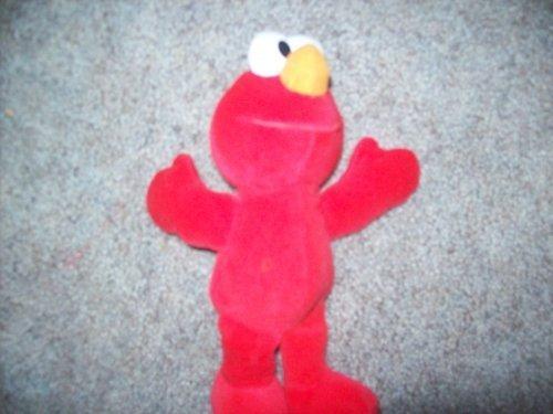 Tyco 123 Sesame Street Plush Doll Elmo - 9 Inches