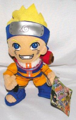 8 Naruto Plush
