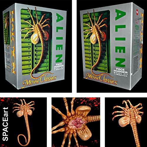 Alien Facehugger 11 Scale Vinyl Model Kit