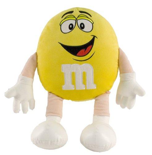M&M Character Medium Plush Yellow