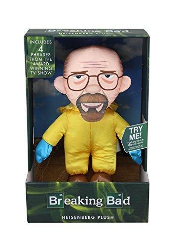 Breaking Bad Heisenberg Walter Talking Plush Toy White by Breaking Bad