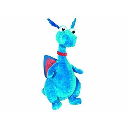 Doc Mcstuffins Chit Chattin Stuffy Talking Plush Toy Disney Blue Dragon Dinosaur