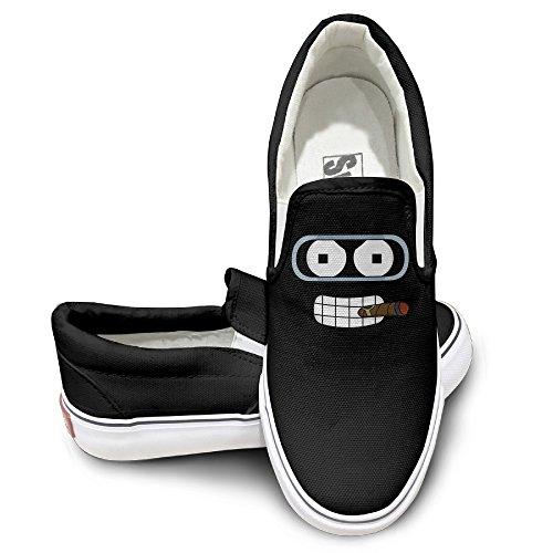 TAYC Futurama Funny Face Fashion Shoe Black